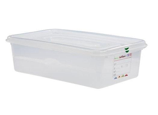 Hermeetiliselt suletav plastkarp 1/1 Пищевой контейнер пластиковый