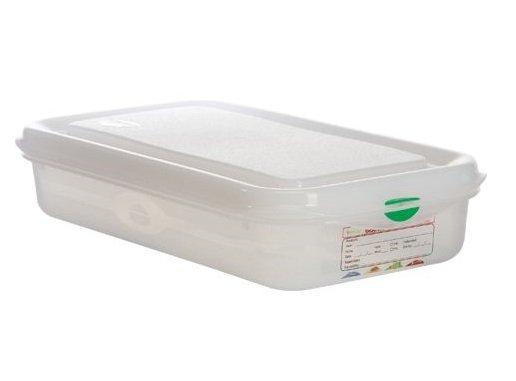 Hermeetiliselt suletav plastkarp 1/3 Пищевой контейнер пластик GN 1/3