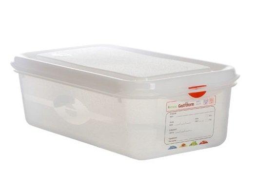 Hermeetiliselt suletav plastkarp 1/3 пищевой контейнер GN