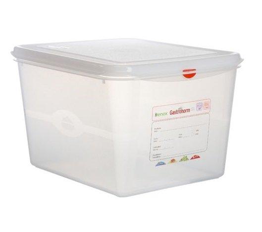 Hermeetiliselt suletav plastkarp Пластиковый контейнер GN 1/2-200 mm пищевой