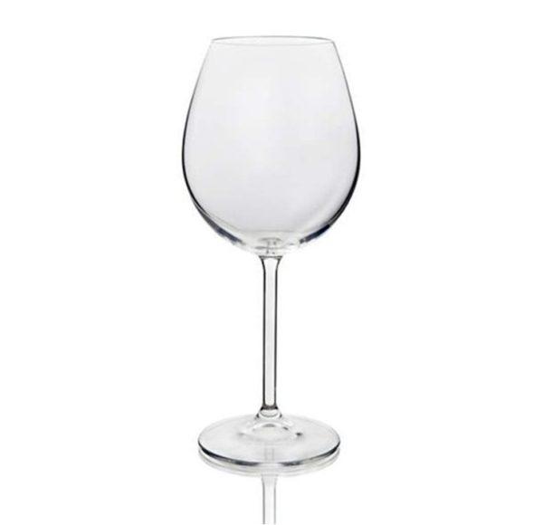 Punase veini pokaal 450 ml Bohemia poolkristall Бокал 450 мл для красного вина