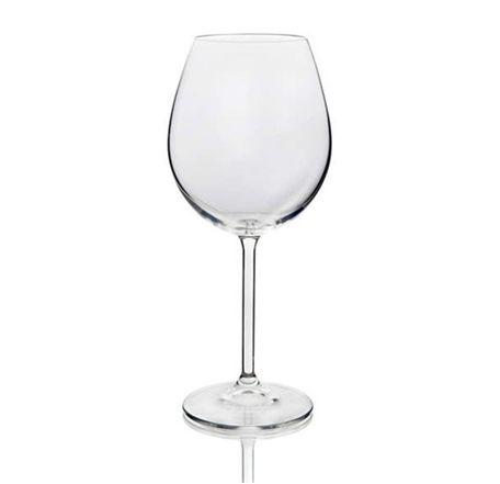 Bordooveini pokaal 580 ml Bohemia poolkristall Бокал для бордоского вина 580 мл