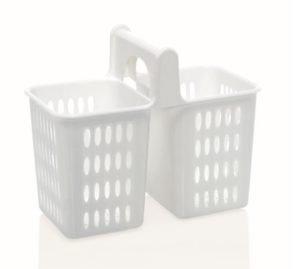Söögiriistade hoidik plastikust valge Подставка для столовых приборов