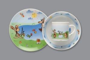 Lauanõude komplekt lastele Детский набор посуды из