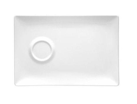 Alustaldrik Gex 200x130 mm Блюдце Gex 200x130 мм белый фарфор