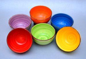 Keraamiliste kausside komplekt 6 Комплект мисок из керамики