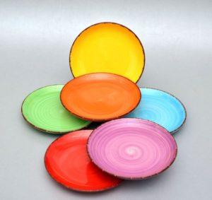 Keraamiliste praetaldrikute komplekt osta Комплект тарелок из керамики