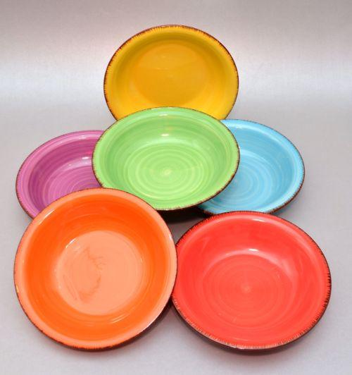 Keraamiliste supitaldrikute komplekt osta Комплект суповых тарелок из