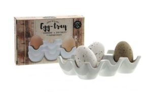 Portselanist muna alus Подставка для 6-ти яиц