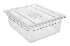 Polükarbonaadist GN nõud Гастроном-контейнер GN 1/2-100 мм с крышкойГастроном-контейнер с крышкой GN 1/2-100 мм