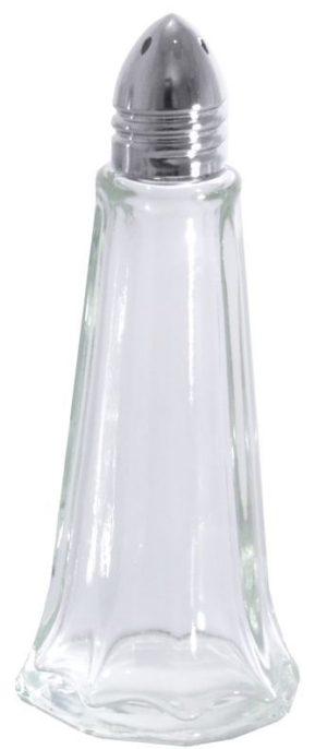 Klaasist pipratoos metallist korgiga Перечница стеклянная 11 см