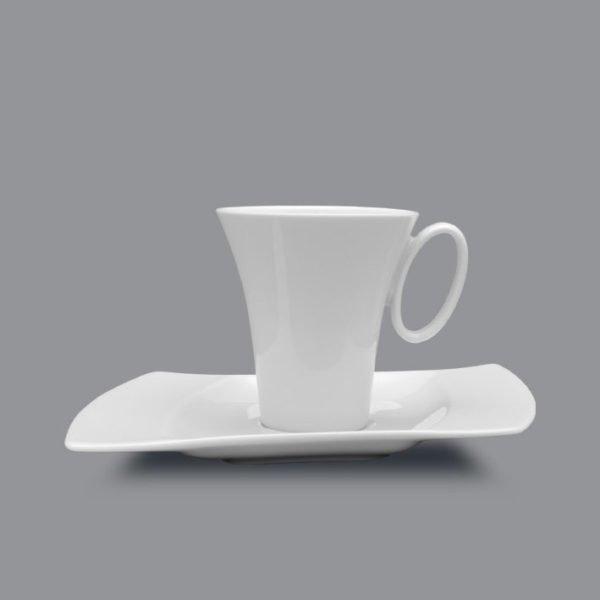Чашка 100 мл+блюдце 16 см Wing