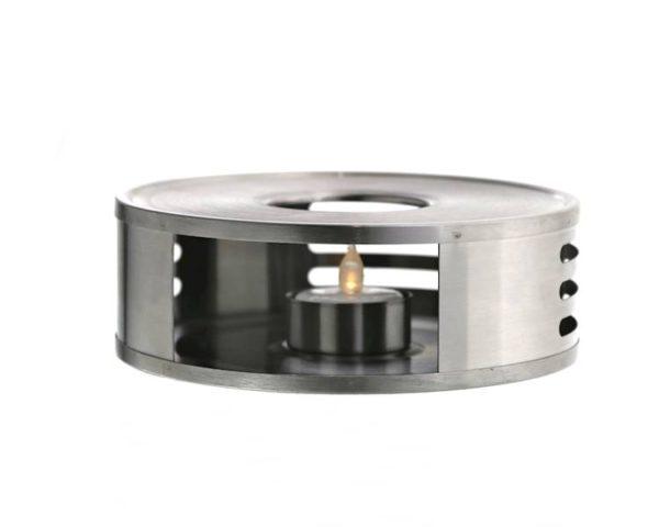 Soojendusalus teeküünlaga roostevabast Подставка нагреватель для чайника