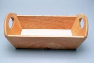 Leivakorv sangadega tugevast puidust