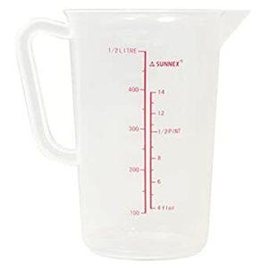 Mõõdukann 500 ml polüpropüleenist tugev Мерный кувшин 500 мл