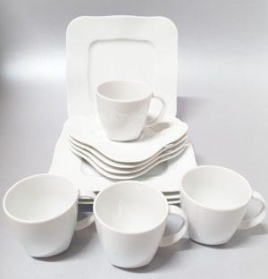 Lauanõude komplekt Moving 4-le 12-osa Набор фарфоровой посуды 12