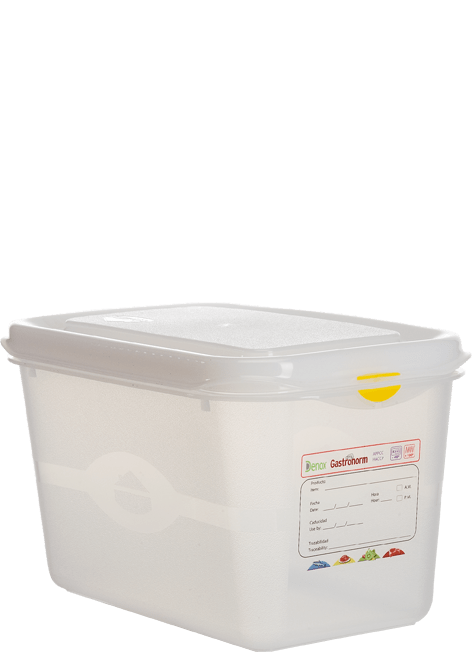 Hermeetiliselt suletav plastkarp 1/4-150 Пластиковый контейнер GN 1/4-150